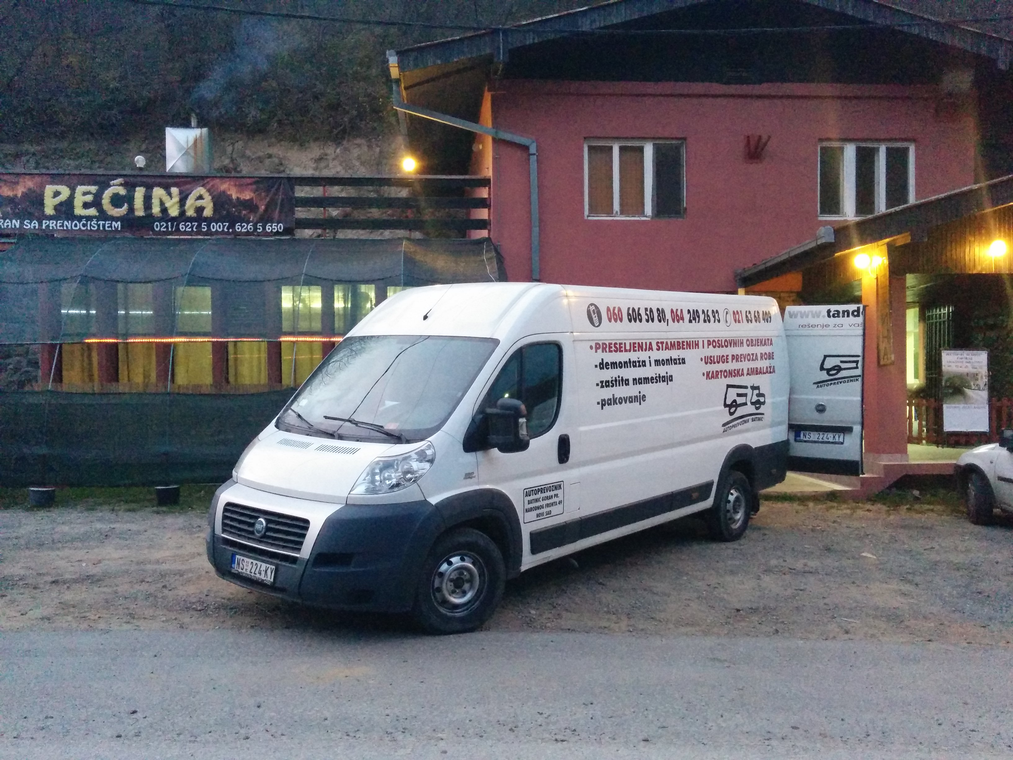 Usluga prevoza iz Beograda za Suboticu